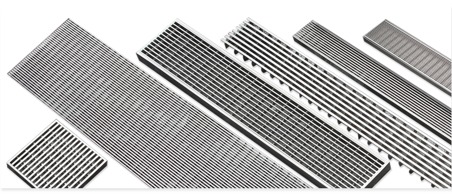 Slim Line V Profile Gratings