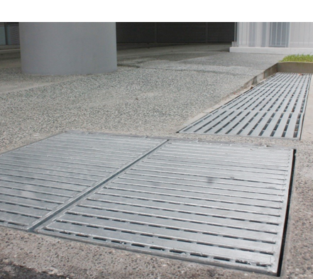 Pedestrian Grating - Barrier Free Design