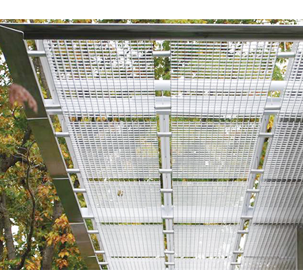 Aluminium Grating Used As Sunshade
