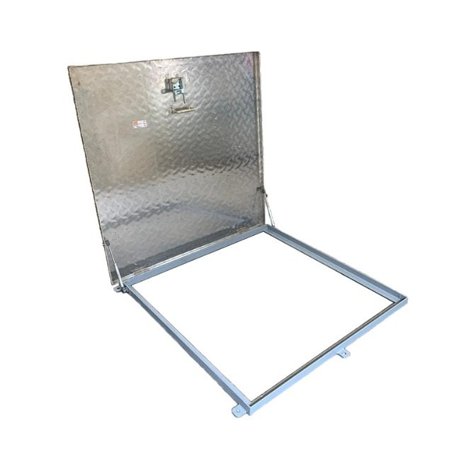 Aluminium Hatch Cover With Hydraulic Arms